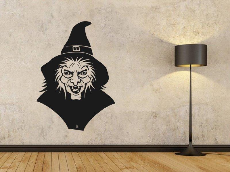 Samolepky na zeď Čarodějnice 002 - Samolepící dekorace a nálepka na stěnu