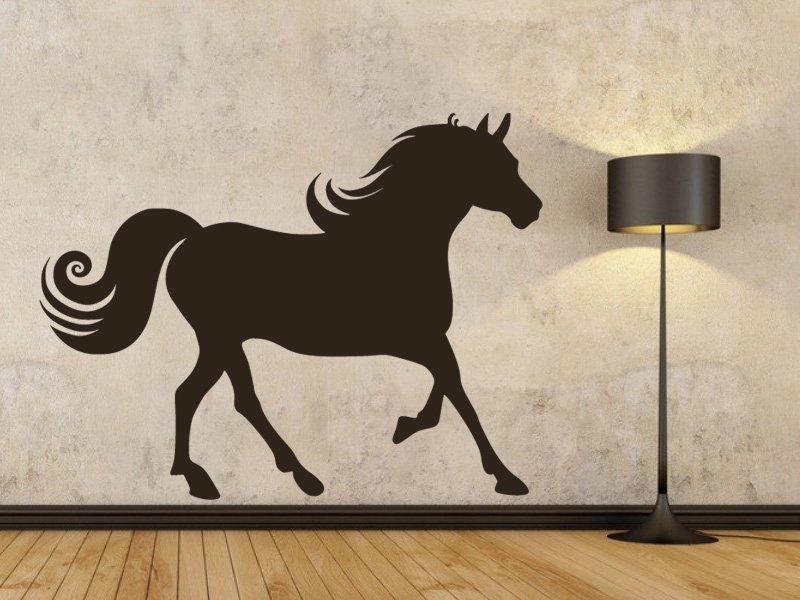Samolepky na zeď Kůň 019 - Samolepící dekorace a nálepka na stěnu