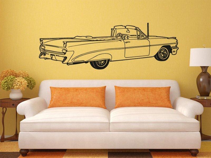 Samolepky na zeď Auto 005 - Samolepící dekorace a nálepka na stěnu