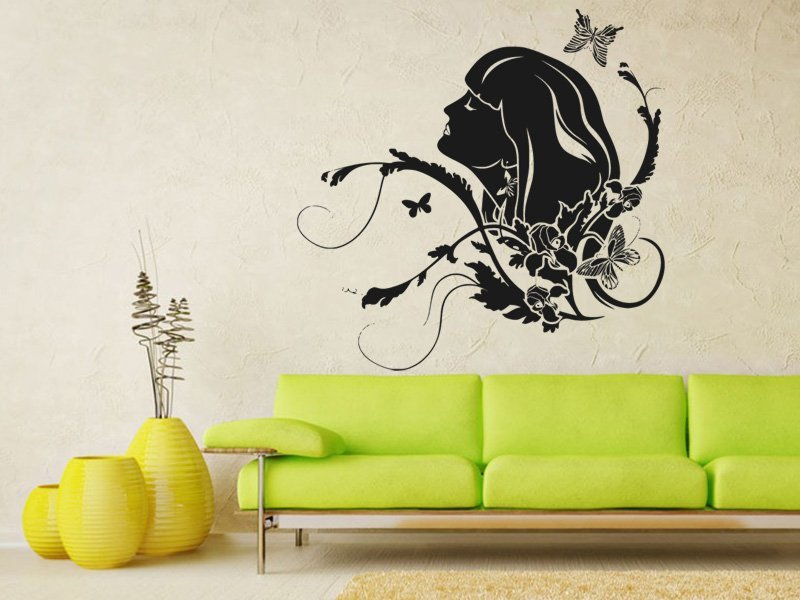 Samolepky na zeď Žena 010 - Samolepící dekorace a nálepka na stěnu
