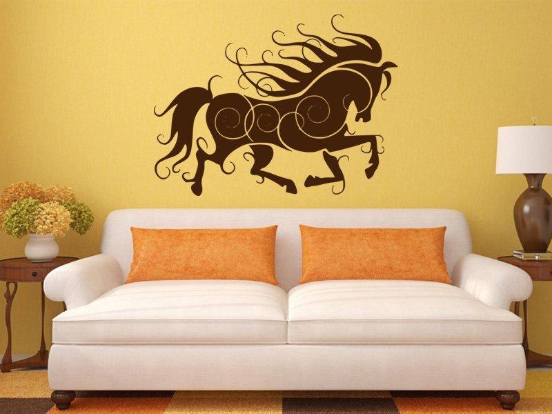 Samolepky na zeď Kůň 012 - Samolepící dekorace a nálepka na stěnu