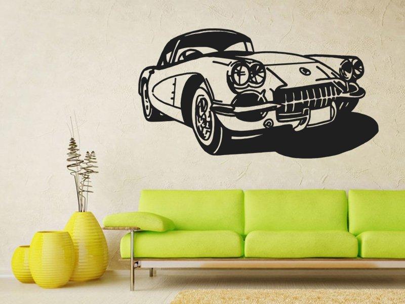 Samolepky na zeď Auto 001 - Samolepící dekorace a nálepka na stěnu