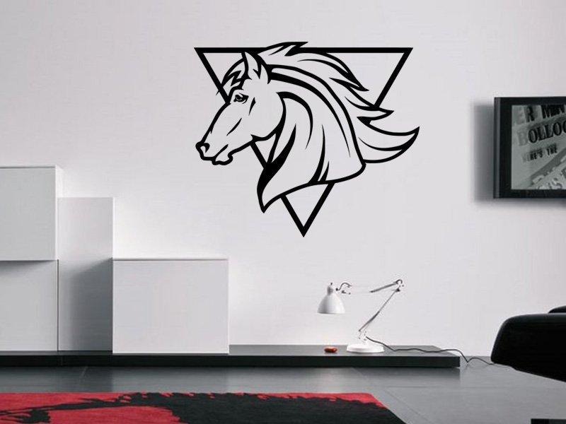 Samolepky na zeď Kůň 0350 - Samolepící dekorace a nálepka na stěnu