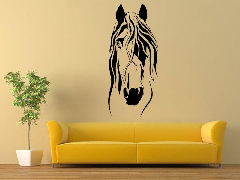 Samolepky na zeď Kůň 0360 - Samolepící dekorace a nálepka na stěnu