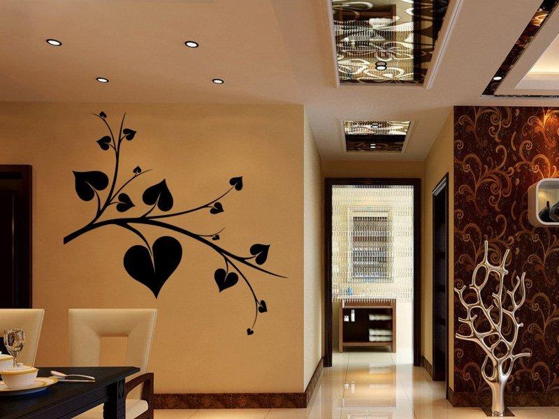 Samolepky na zeď Srdce 0248 - Samolepící dekorace a nálepka na stěnu