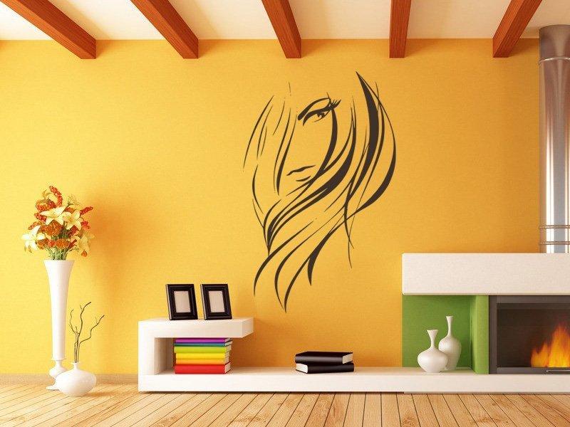 Samolepky na zeď Žena 018 - Samolepící dekorace a nálepka na stěnu