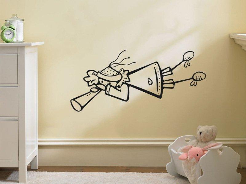 Samolepky na zeď Andílek 001 - Samolepící dekorace a nálepka na stěnu
