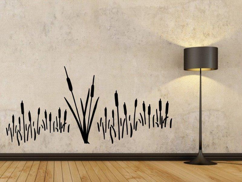 Samolepky na zeď Rákos 001 - Samolepící dekorace a nálepka na stěnu