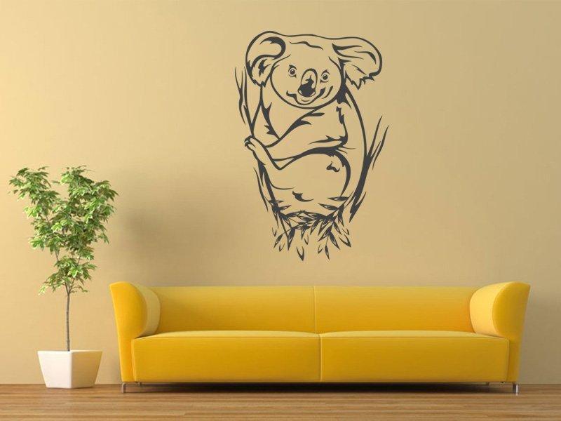 Samolepky na zeď Koala 002 - Samolepící dekorace a nálepka na stěnu