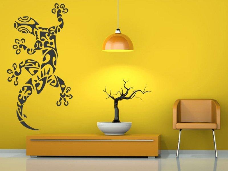 Samolepky na zeď Ještěrka 009 - Samolepící dekorace a nálepka na stěnu