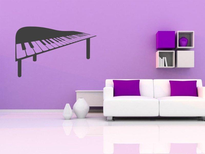 Samolepky na zeď Piano 011 - Samolepící dekorace a nálepka na stěnu