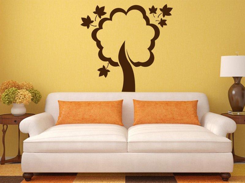 Samolepky na zeď Strom 044 - Samolepící dekorace a nálepka na stěnu