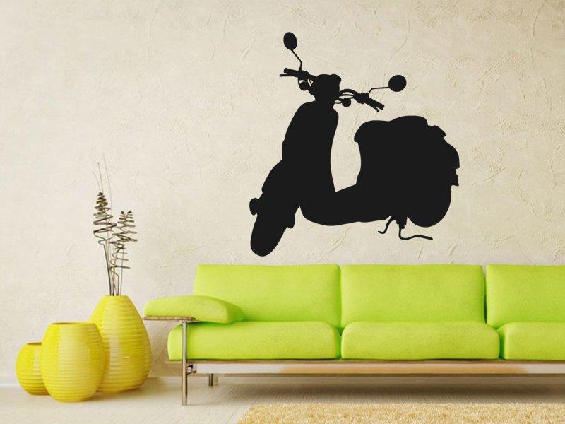 Samolepky na zeď Motorka 025 - Samolepící dekorace a nálepka na stěnu