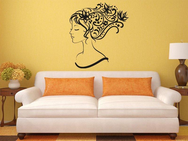 Samolepky na zeď Žena 009 - Samolepící dekorace a nálepka na stěnu