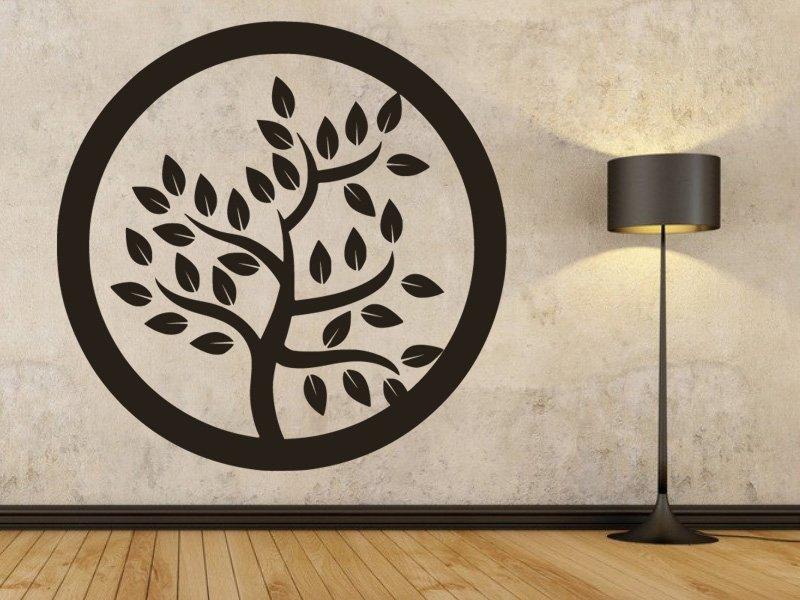 Samolepky na zeď Strom 051 - Samolepící dekorace a nálepka na stěnu