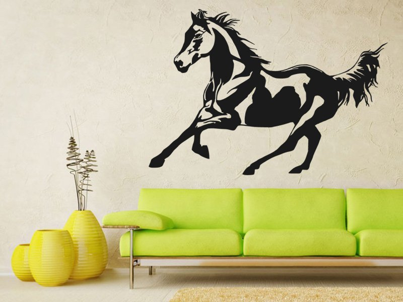 Samolepky na zeď Kůň 0378 - Samolepící dekorace a nálepka na stěnu
