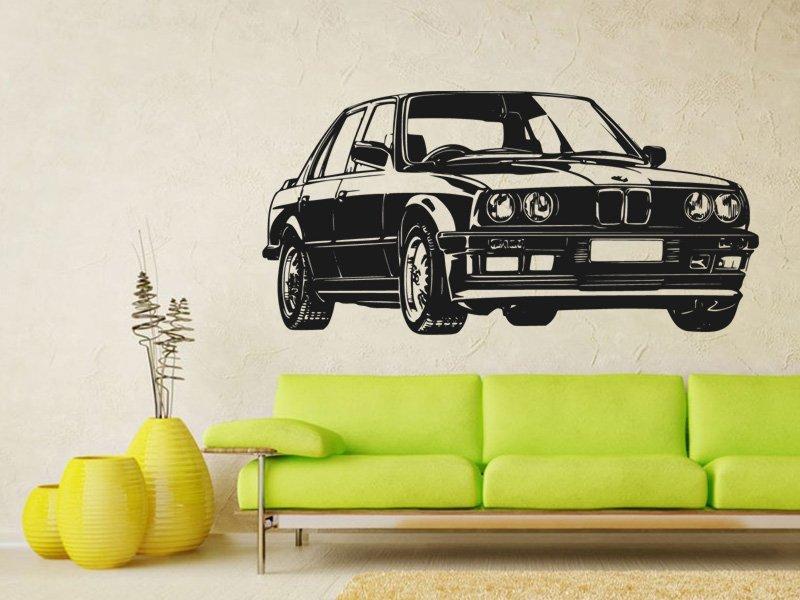 Samolepky na zeď Auto 030 - Samolepící dekorace a nálepka na stěnu