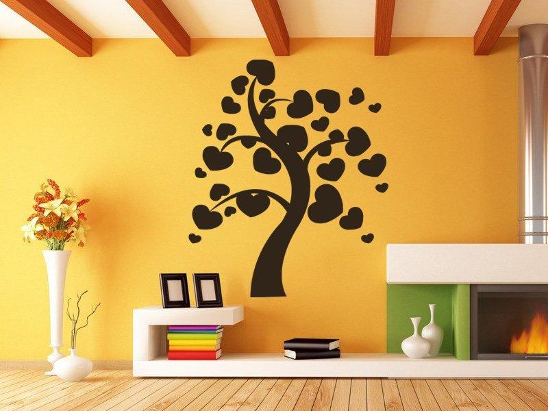 Samolepky na zeď Strom zamilovaných 0230 - Samolepící dekorace a nálepka na stěnu