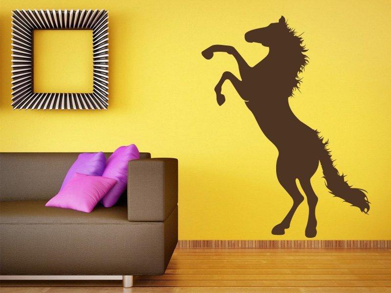 Samolepky na zeď Kůň 005 - Samolepící dekorace a nálepka na stěnu