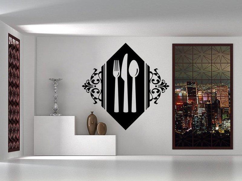Samolepky na zeď Příbory 0095 - Samolepící dekorace a nálepka na stěnu