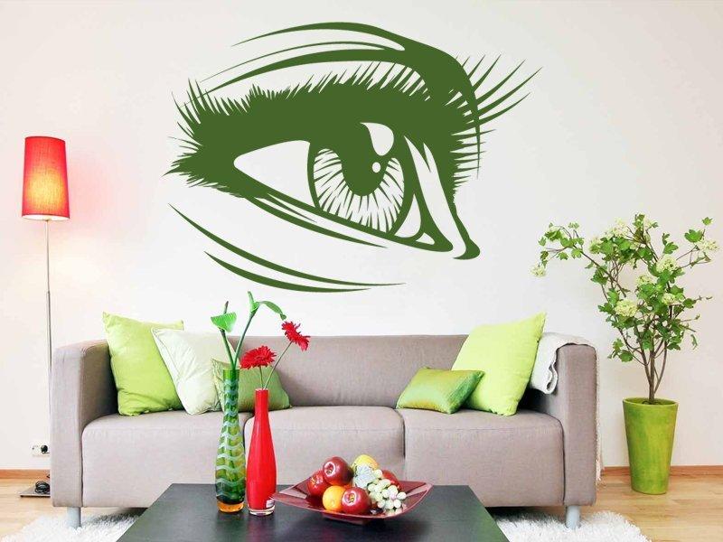 Samolepky na zeď Oko 001 - Samolepící dekorace a nálepka na stěnu