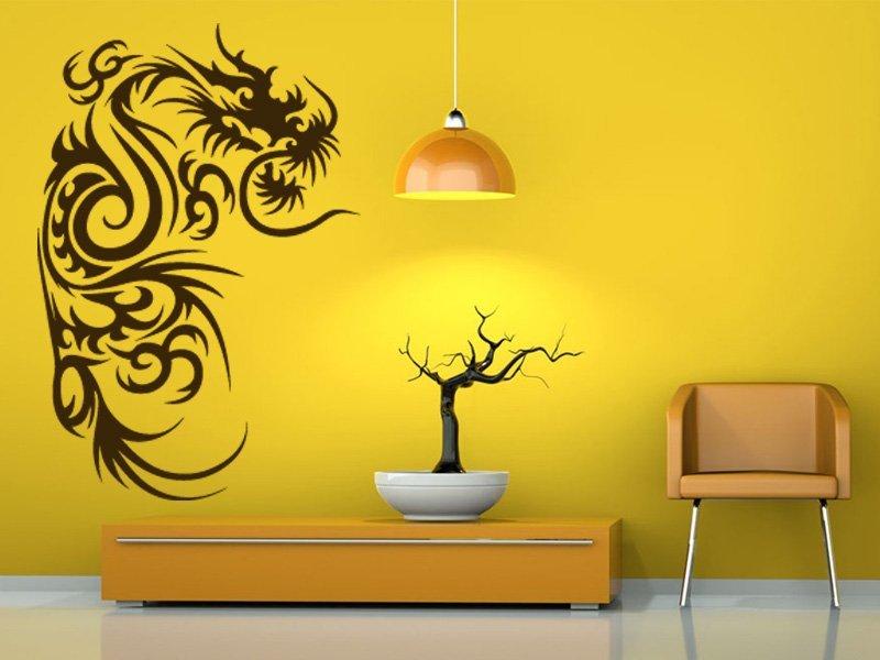 Samolepky na zeď Drak 013 - Samolepící dekorace a nálepka na stěnu