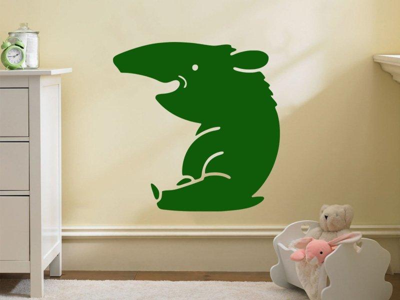 Samolepky na zeď Mravenečník 001 - Samolepící dekorace a nálepka na stěnu