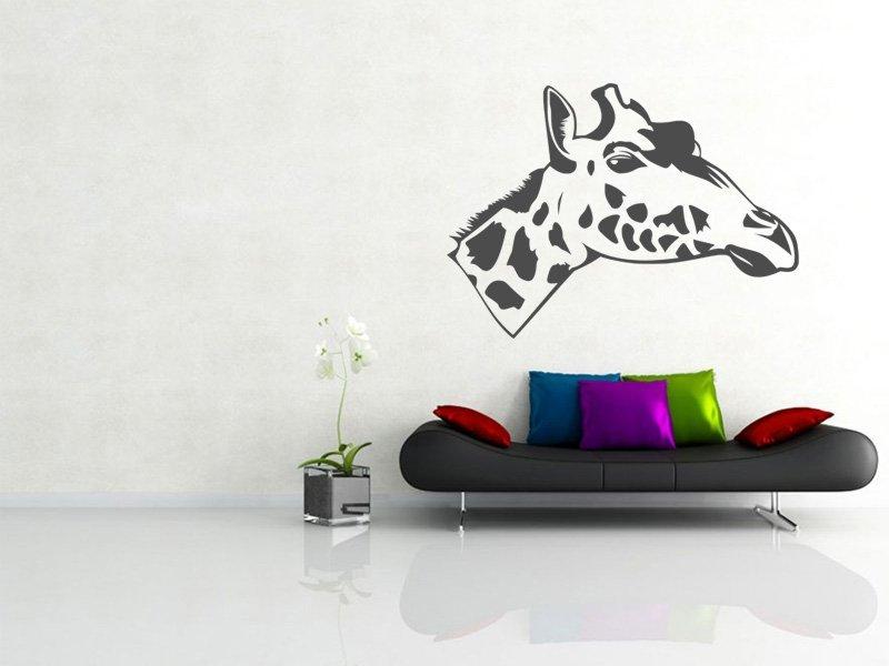 Samolepky na zeď Žirafa 006 - Samolepící dekorace a nálepka na stěnu
