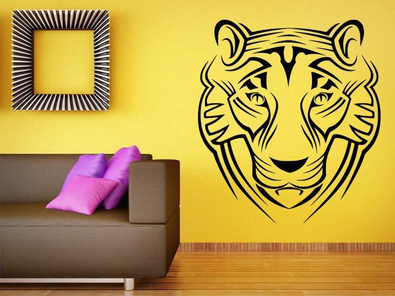 Samolepky na zeď Tygr 009 - Samolepící dekorace a nálepka na stěnu