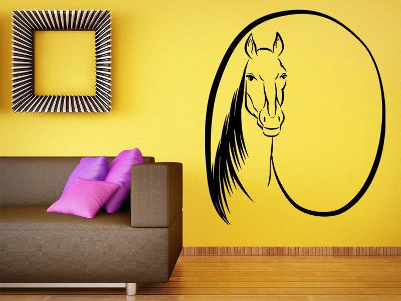 Samolepky na zeď Kůň 0331 - Samolepící dekorace a nálepka na stěnu