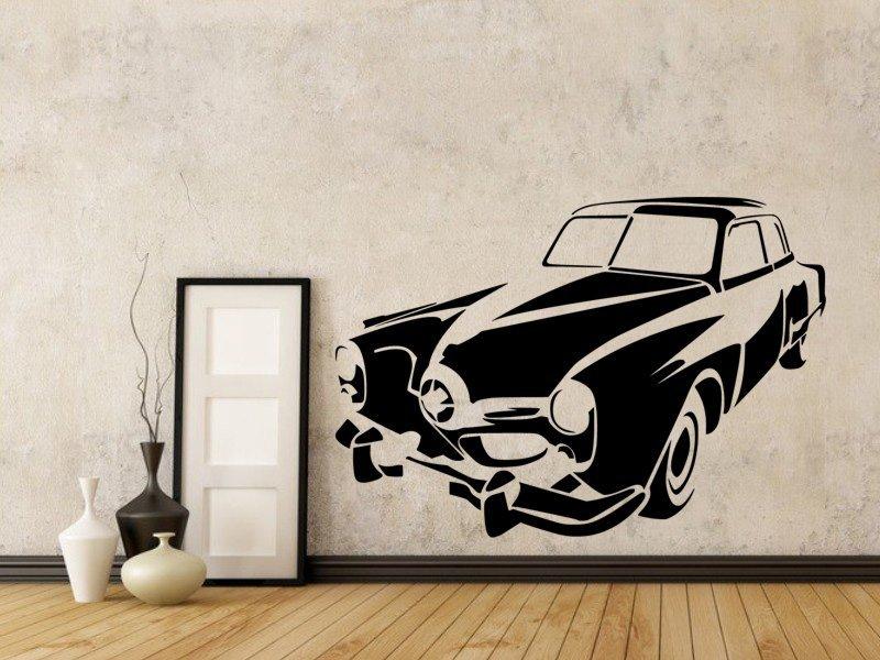 Samolepky na zeď Auto 033 - Samolepící dekorace a nálepka na stěnu