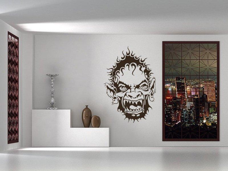 Samolepky na zeď Skřet 001 - Samolepící dekorace a nálepka na stěnu