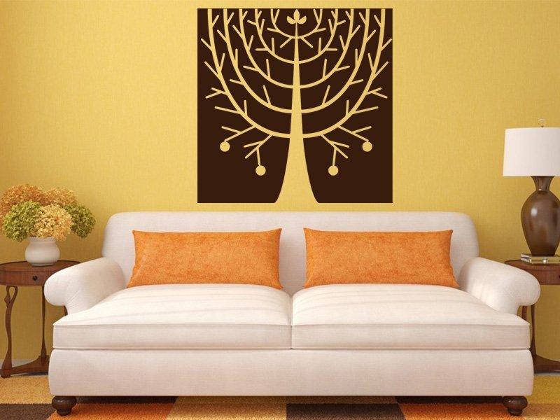 Samolepky na zeď Strom 0229 - Samolepící dekorace a nálepka na stěnu