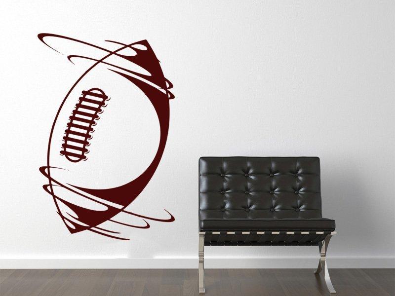 Samolepky na zeď Americký fotbal 006 - Samolepící dekorace a nálepka na stěnu