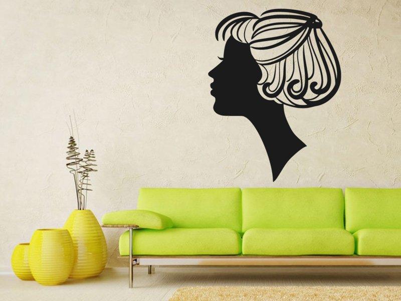 Samolepky na zeď Žena 007 - Samolepící dekorace a nálepka na stěnu
