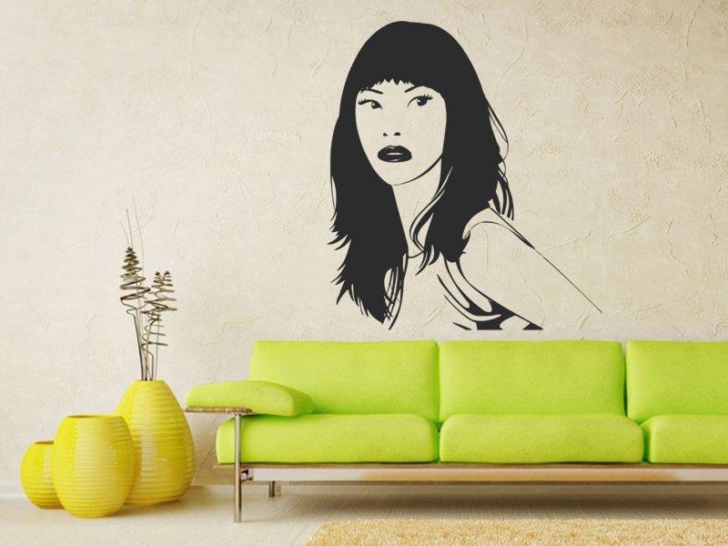 Samolepky na zeď Žena 040 - Samolepící dekorace a nálepka na stěnu