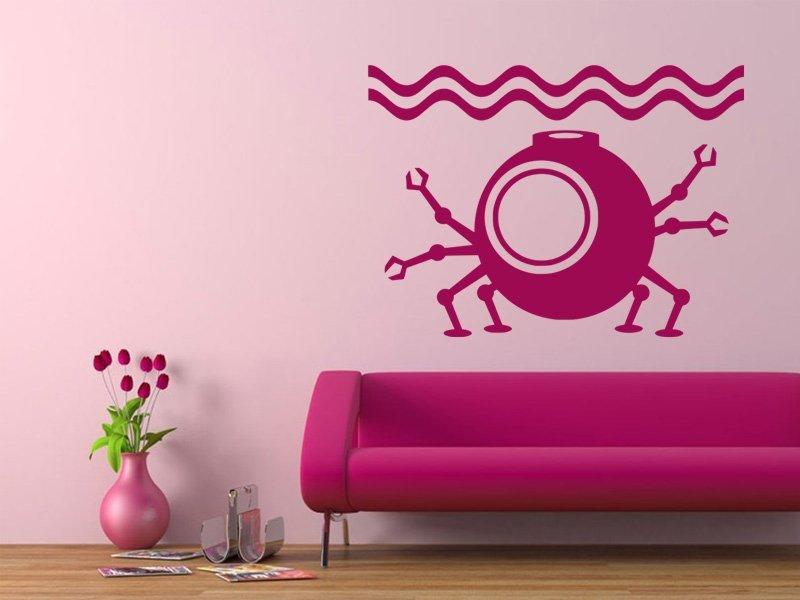 Samolepky na zeď Ponorka 002 - Samolepící dekorace a nálepka na stěnu