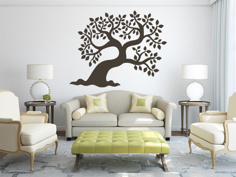 Samolepky na zeď Strom 007 - Samolepící dekorace a nálepka na stěnu