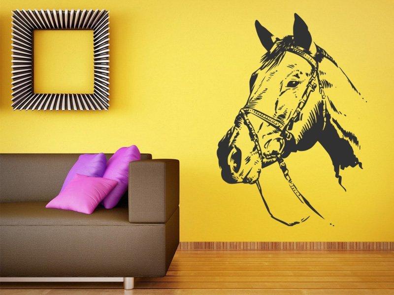 Samolepky na zeď Kůň 023 - Samolepící dekorace a nálepka na stěnu