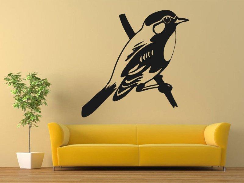 Samolepky na zeď Pták 013 - Samolepící dekorace a nálepka na stěnu
