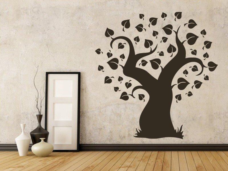 Samolepky na zeď Strom 027 - Samolepící dekorace a nálepka na stěnu