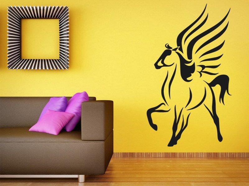 Samolepky na zeď Kůň 0407 - Samolepící dekorace a nálepka na stěnu