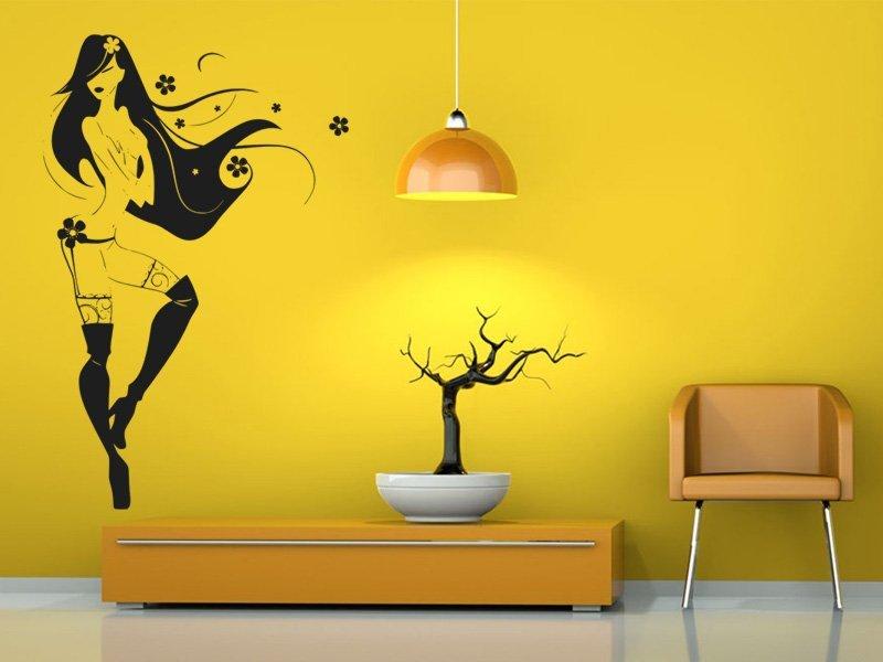 Samolepky na zeď Žena 015 - Samolepící dekorace a nálepka na stěnu