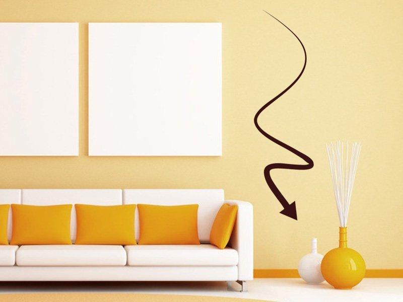 Samolepky na zeď Šipka 022 - Samolepící dekorace a nálepka na stěnu