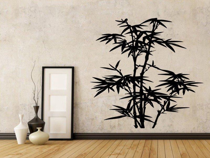 Samolepky na zeď Bambus 010 - Samolepící dekorace a nálepka na stěnu