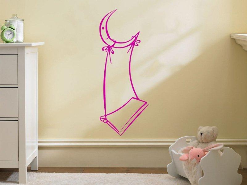Samolepky na zeď Měsíček 001 - Samolepící dekorace a nálepka na stěnu