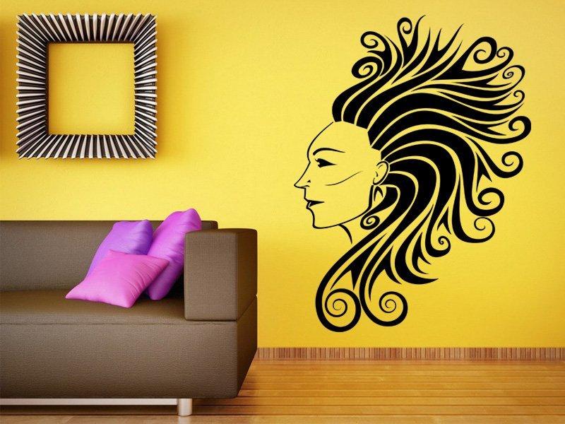 Samolepky na zeď Dívka 014 - Samolepící dekorace a nálepka na stěnu