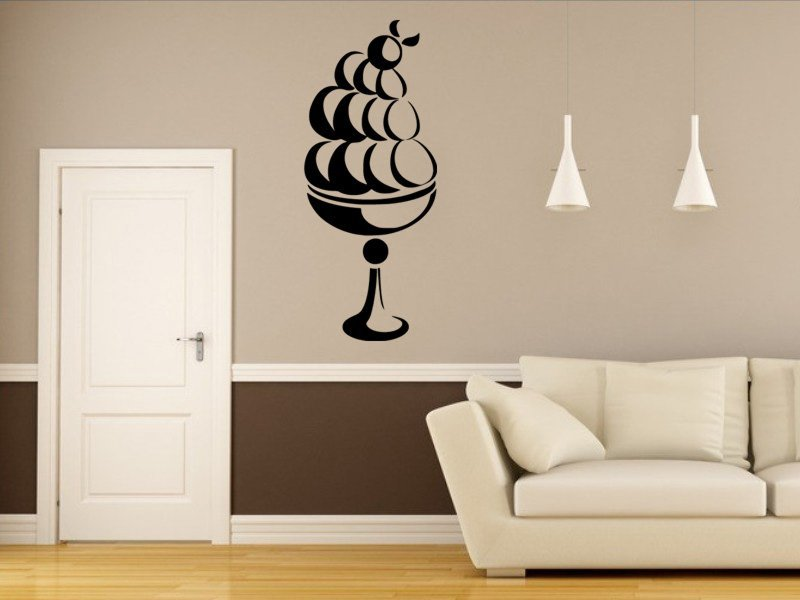 Samolepky na zeď Pohár 0010 - Samolepící dekorace a nálepka na stěnu