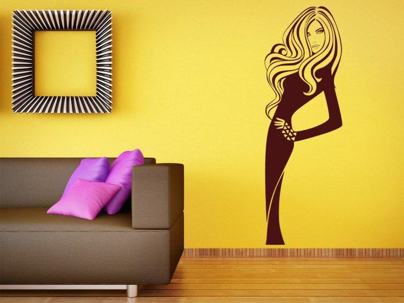 Samolepky na zeď Žena 032 - Samolepící dekorace a nálepka na stěnu