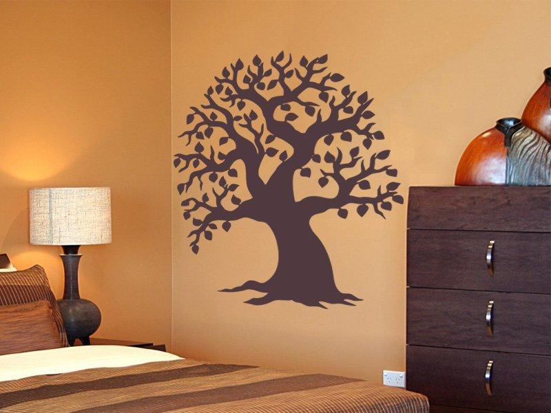 Samolepky na zeď Strom 005 - Samolepící dekorace a nálepka na stěnu